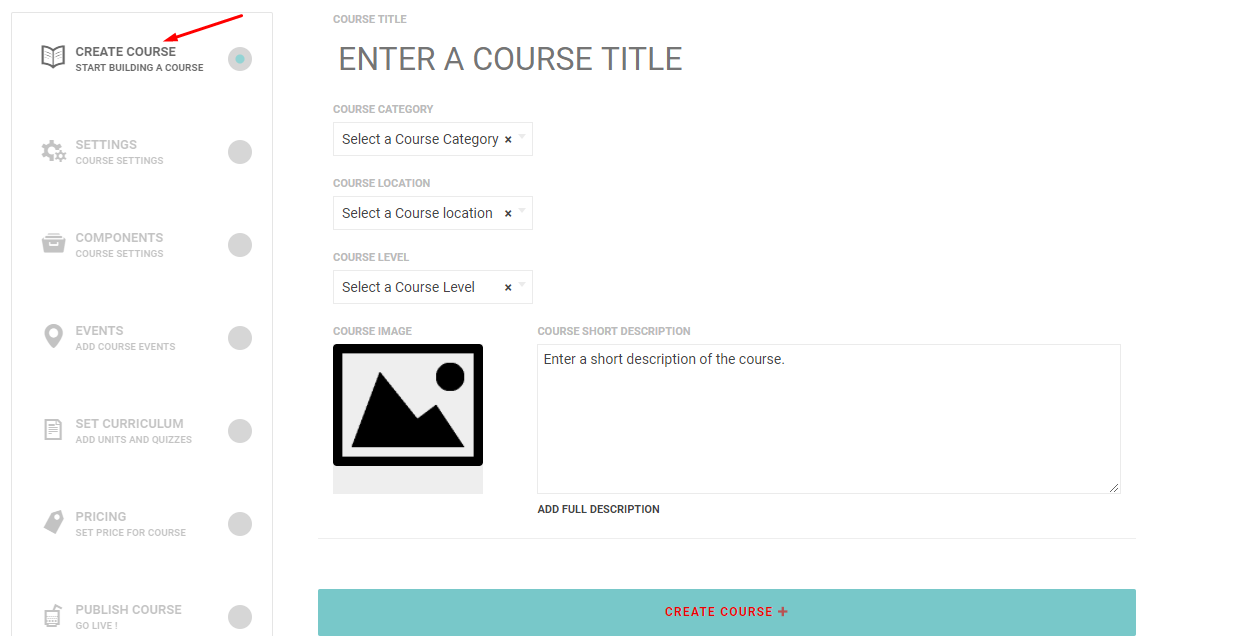 2 - Front End Course Creation