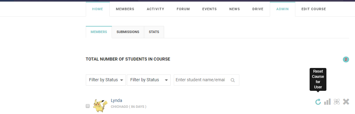 1 - Manage Courses